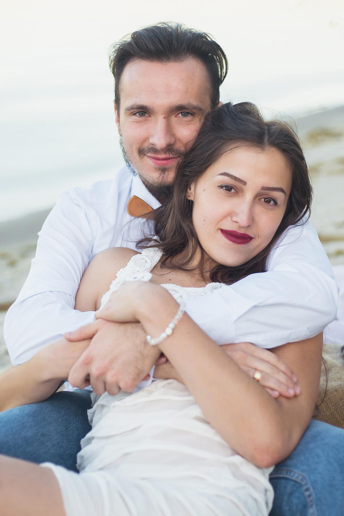 Портрет влюблённых, красивая пара